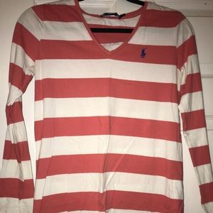 Ralph Lauren stripe long sleeve
